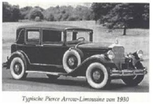 Pierce Arrow Limosine