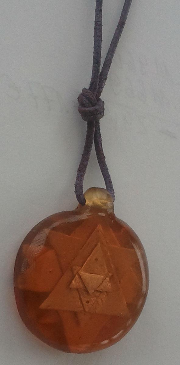 Sri-Yantra-Amulett